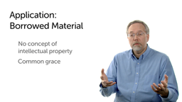 Applying the Data: Borrowed Material
