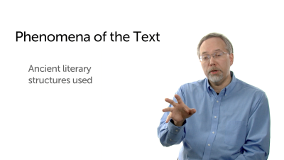 Phenomena of the Text: Literary Structures