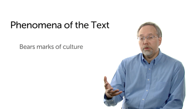 Phenomena of the Text: Cultural Markers