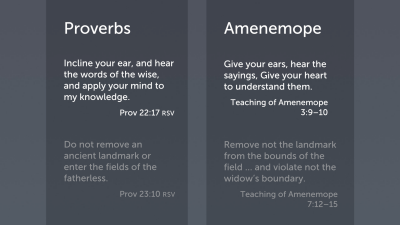 Phenomena of the Text: Borrowed Material