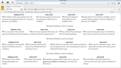 Finding Different Gospel Harmonies