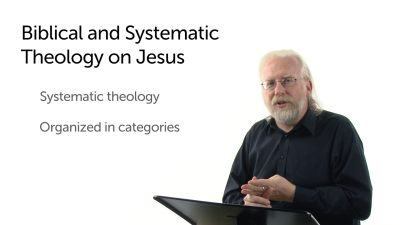Biblical or Systematic Theology? An Example