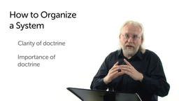How to Organize a System