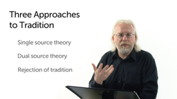 Three Approaches to Tradition
