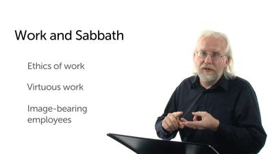 Work and Sabbath