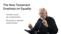 The New Testament Emphasis on Equality