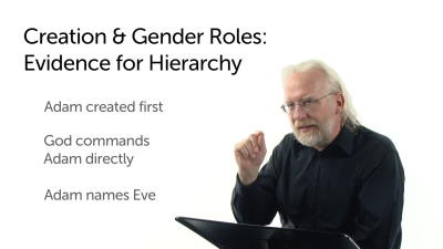 Creation and Gender Roles: Evidence for Hierarchy