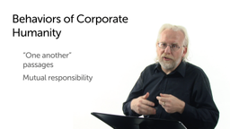 Behaviors of Corporate Humanity