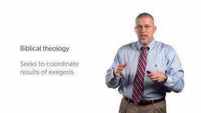 Biblical and Exegetical Theology
