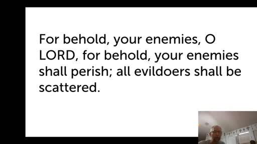 Sat. Jan 30, '21 PPT Psalm 92