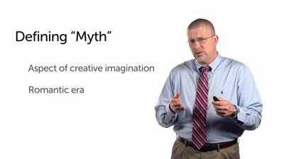 Myth as an Aspect of Creative Imagination