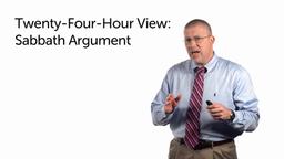 The Sabbath Argument
