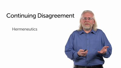 Disagreement in Hermeneutics: The New Testament Interprets the Old