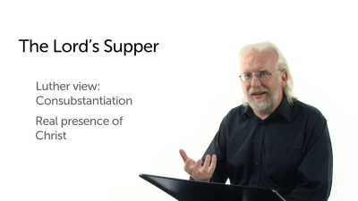 Introducing the Lord's Supper