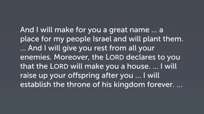 Character of the Davidic Covenant