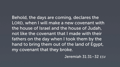 Character of the New Covenant