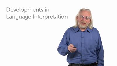 Recent Developments in Understanding Language