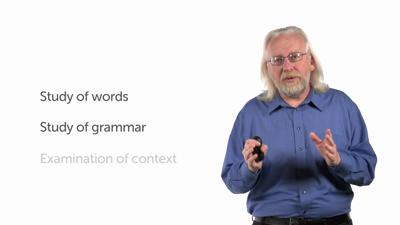 Grammatical-Historical Interpretation