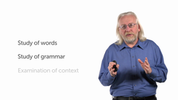 Grammatical-Historical Interpretation