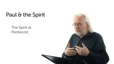 Paul and the Spirit