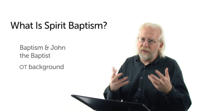 What Is Spirit Baptism?