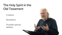 The Old Testament Work of the Holy Spirit