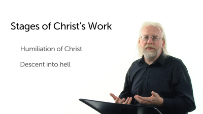 Stages of Christ's Work