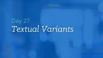 Understand the Textual Variants in Matthew 4