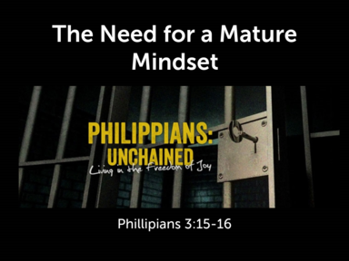 The Need for a Mature Mindset