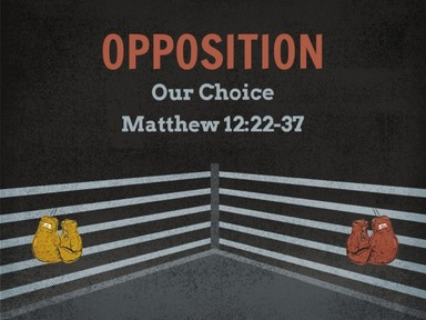 Opposition: Our Choice
