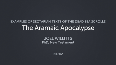 The Aramaic Apocalypse