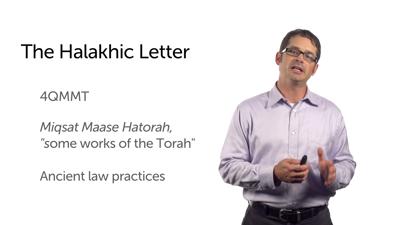 The Halakhic Letter