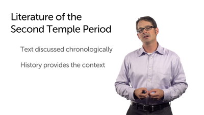 Introduction to Selected Second Temple Texts