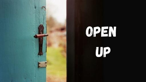 Open Up: Open Doors