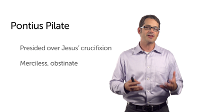Herod Antipas and Pontius Pilate