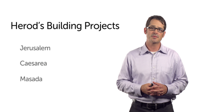 Herod's Building Projects