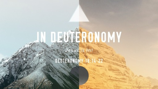 In Deuteronomy