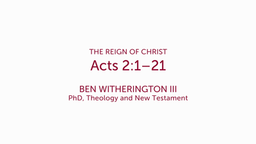 Acts 2:1–21