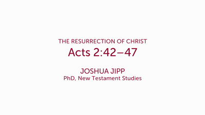 Acts 2:42–47