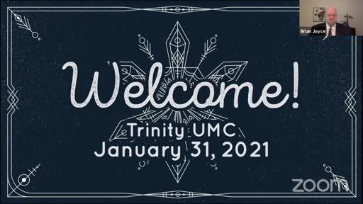 Sunday Worship—Jan. 31, 2021
