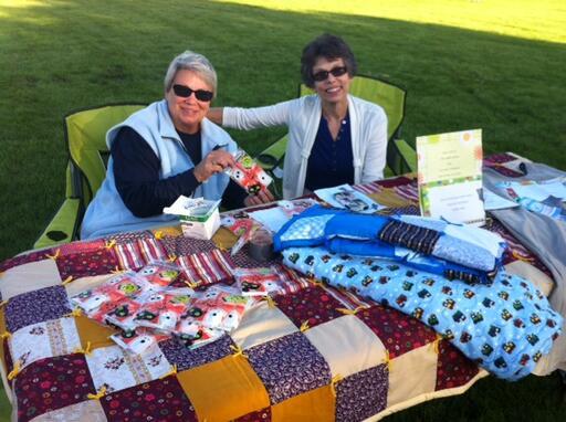 Carole And Karen At Harvest Fair