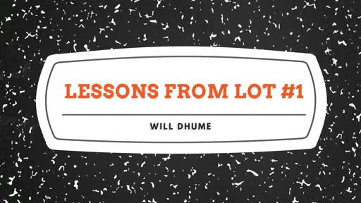 Lessons From Lot #1 - 2 Peter 2:6-9