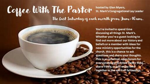 Coffee With The Pastor 2