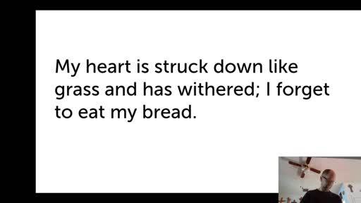 Tues.  Feb. 2, '21 PPT Psalm 102