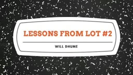 Lessons From Lot #2 - 2 Peter 2:6-9