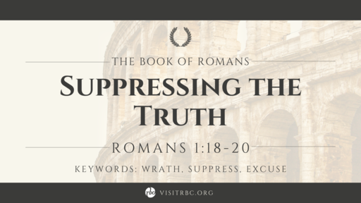 Suppressing the Truth