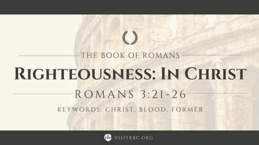 Righteousness: In Christ