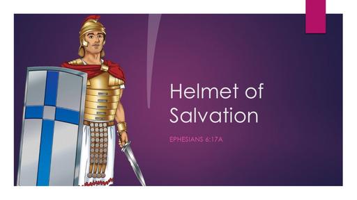6. Helmet of salvation - Sunday February 7, 2021