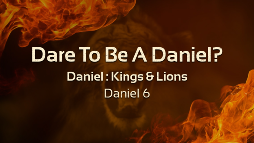 Dare To Be A Daniel?