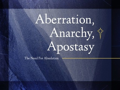 Apostasy Defined
